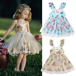 $enCountryForm.capitalKeyWord Australia - Flower Girl Dresses Lace Wedding Pageant Formal Party Tutu Dress Outfit