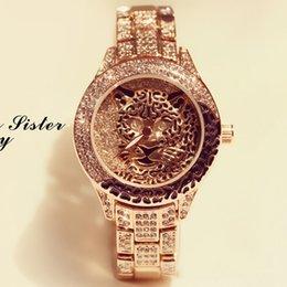 a1fa2d87afe9b Top Brand Luxury Watch Women Waterproof Fashion Wrist Watches Fully Diamond  Leopard Print Ladies Watch Bracelet Women Watches