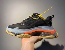 $enCountryForm.capitalKeyWord Australia - Flash Deal Paris 2019 Crystal Bottom Triple-s Leisure Shoes Luxury Dad Shoes Platform Triple S Sneakers For Men Women Chaussure