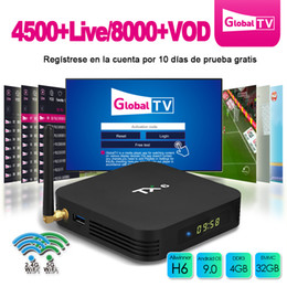 Android Tv Box Portugal Australia - Smart TV Box Android 9.0 Tanix TX6 Allwinner H6 4K 2.4G 5GHz Dual WiFi Bluetooth Maroc Portugal Turkey IPTV subscription TVBox 4GB 32GB