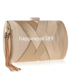 $enCountryForm.capitalKeyWord Australia - SEKUSA Fashion Women Bag Tassel Metal Small Day Clutch Purse Handbags Chain Shoulder Lady Evening Bags Phone Key Pocket Bags