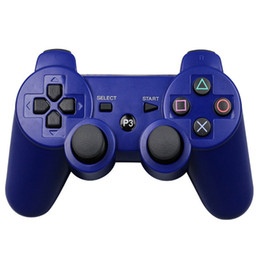 Wireless Console Controller Australia - Best selling explosion neutral snowflake key ps3 game controller controller ps3 wireless Bluetooth game console