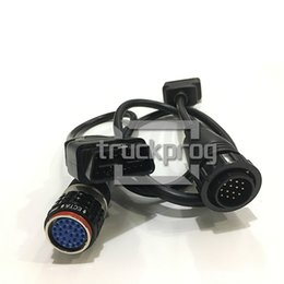 truck cables NZ - TruckProg Diagnostic Cable 88890306 8 Pin cable with 88890304 OBDII OBD2 forVolvo Vocom 88890030 Truck Diagnostic Scanner