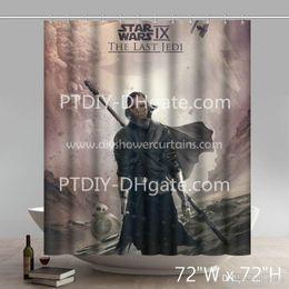 $enCountryForm.capitalKeyWord Canada - Professional DIY Unique Wars Episode The Last Jedi Bathing Shower Curtains