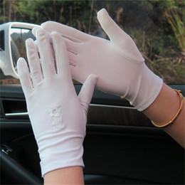 $enCountryForm.capitalKeyWord Australia - 1 Pair New 2019 Sunscreen Short Paragraph Gloves Women's Summer Autumn Driving Sunscreen UV Protection Gloves