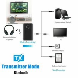 HeadpHone transmitter receiver online shopping - Bluetooth Transmitter and Receiver in mm Car Home Audio Wireless Adapter For TV Computer MP3 Headphone Mobile Phone