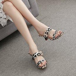 $enCountryForm.capitalKeyWord Australia - Pretty2019 White And Black Leopard Print Sexy Joker Wine Glass With Semi Trailer Women's Shoes 118-2
