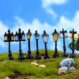 $enCountryForm.capitalKeyWord Australia - landscape miniature New 8 Style Mini Street Light Lamp Antique Imitation Fairy Garden Home Miniature Jardin Terrarium Decor Micro Landscape