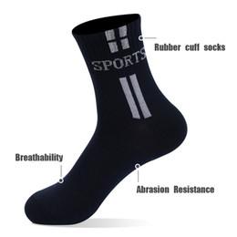 $enCountryForm.capitalKeyWord Australia - Spring Autumn Sports Socks Polyester Cotton Gray Black White Navy Athletic Hoses Four Colors 50 Pairs Gym Socks