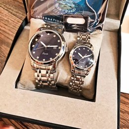 Best Christmas Gifts For Men Australia - brand lovers' watches luxury Starry sky dial man woman Full Stainless Steel band quartz watch for ladies men's best gift with gift box