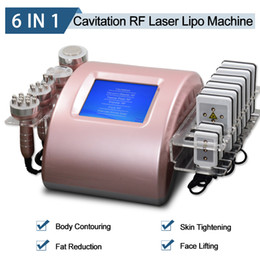 radio frequency skin tightening machines NZ - 2020 Lipo Laser Liposuction Machine Ultrasonic Cavitation Fat Reduction RF Radio Frequency Skin Tightening Lipolaser Lipolysis Equipment