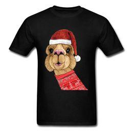 $enCountryForm.capitalKeyWord Australia - Cute Alpaca Christmas 2019 Men Black T Shirt Holiday Custom Family Gift Top T Shirt Funny Cartoon Print Wholesale Discount
