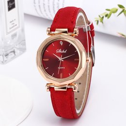 $enCountryForm.capitalKeyWord Australia - Foreign trade hot with the watch female students Korean version of the trend quartz watch cute boudoir honey vintage frosted watch band