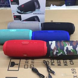 Dual Mobile Audio Australia - prevent water Bluetooth Speaker Charge3 Plugin Bluetooth Speaker Mobile Power Dual Diaphragm High Volume Speaker Portable Radio for jbl