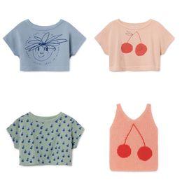 $enCountryForm.capitalKeyWord Australia - Bobo Choses 2019 Summer Baby Boys Girl T Shirt Cotton Short Printed Cherry Girls T-shirts Children Tees Kids Clothes 1-11y J190529