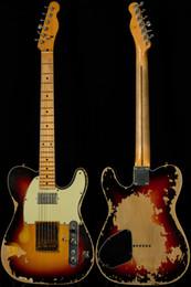 $enCountryForm.capitalKeyWord NZ - Andy Summers Tribute Guitar Custom Shop Masterbuilt Yuri Shishkov Relic Aged Electric Guitar Limited Edition Masterbuilt Vintage Sunburst