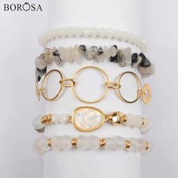 $enCountryForm.capitalKeyWord Australia - wholesale 5Sets (5Pcs set Different Bracelets) Multi-kind Jades Beads Opal Crystal Glass Faceted Bead Bracelet Sets Jewelry WX1187