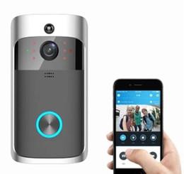 Home security intercom online shopping - Smart Wireless Security wifi doorbell HD P video intercom Recording Video Door Phone Remote Home Monitoring video door bell
