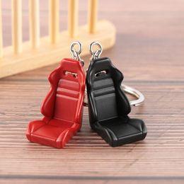 $enCountryForm.capitalKeyWord Australia - 1Pcs Hot Creative Car Auto Metal Mini Seat Chair Key Chain Keyring Keychain Men Fashion Gifts