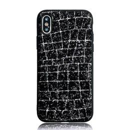 3d Iphone Plus Case Bling Australia - 3D Flash Crystal Powder Bling Stone Phone Case for IPhone X XS 8 Plus 8p 7 6 6S Plus 7p 6p Cellphone Luxury Rhinestone Case Tpu Siliver