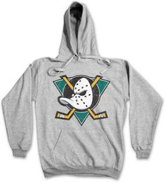 Men Mask Stick Australia - Ducks Hockey Hoodie Sweatshirt Symbol Sign Team The Mighty Logo Mask Bat Stick