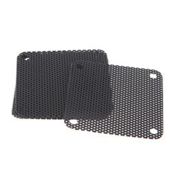 $enCountryForm.capitalKeyWord Australia - 5PCS PVC Fan Dust Filter PC Dustproof Case Cuttable Computer Mesh Cover 40mm Mesh Black Dust Filter