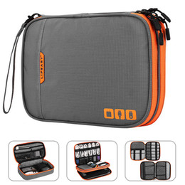 Chinese  Portable Electronic Accessories Travel case,Cable Organizer Bag Gadget Carry Bag for iPad,Cables,Power,USB Flash Drive, Charger manufacturers