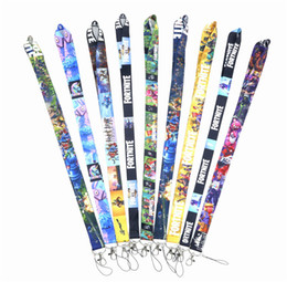a86a2f5c65fc Games Fortnite Neck Strap Lanyard With Clip For keychain ID Card Holder  Hang Rope Lanyard Fashion Pendants Phone Straps