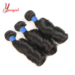 Human Hair Extension Wholesale Factory NZ - 3 Bundles Romance Curly 8-28 Inches Natural Color Peruvian Human Virgin Funmi Weaving Bundles Hair Extensions Factory Wholesale Cheap Price