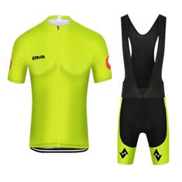 5e4ede7ed 2019 Summer strava Short Sleeve Men Cycling Jersey Bib Shorts Set Racing Bike  Clothes Ropa Ciclismo Bicycle Clothing kits Y022703
