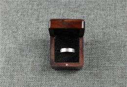 $enCountryForm.capitalKeyWord Australia - 2019 New Wooden Jewelry Ring Box Wedding Small Jewelry Wood Box Bracelet Delicate Wooden Pendant Box