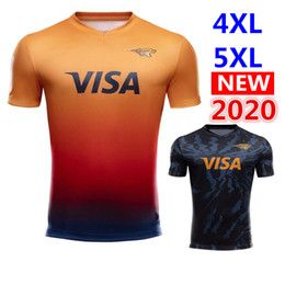rugby big NZ - new new 2020 JAGUARES Home and away rugby Jerseys League shirts jaguars leopard rugby shirt jaguares Jersey big size s-5xl