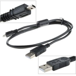 uc cable Canada - Replacement USB Cable UC-E6 for Nikon COOLPIX S4000 S4200 S5100 S70 S80 S800C S8000 D3200 D5000 L20 L22 L100 L120 Digital Camera 1000pcs