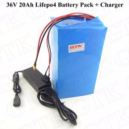 36v lifepo4 battery charger UK - lifepo4 36v 20ah battery 36v electric bike battery electric bicycle batteries electric motorcycles battery 36v 20ah+charger