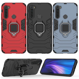 Wholesale redmi note 8 for sale - Group buy Phone Case For Xiaomi Redmi Note Case Armor Cover Redmi Note Silicone Hard Cover Red Mi Note8 Metal Finger Ring Holder