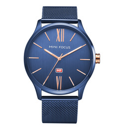 91a4d7aae09 stainless Steel Quartz Man Leather watch Japan Movement watch rose gold  Wristwatches Life Waterproof Brand male clock Hot Items