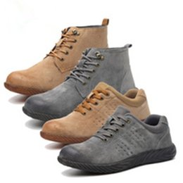 $enCountryForm.capitalKeyWord Australia - DEWBest Breathable Safety Shoes Anti-smashing and Anti-piercing Safety Shoes Labor Oil-resistant and Anti