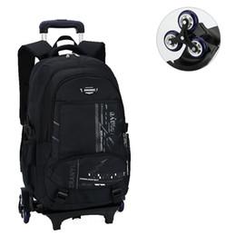 $enCountryForm.capitalKeyWord NZ - New Removable Boys Wheeled bag Schoolbag Children Backpack Large capacity School Backpack Kids Travel Bag Mochila Infantil