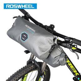 810dfd0bcc5 ROSWHEEL 111458 2pcs set 12L Full Waterproof 840D TPU MTB Road Bike Bags  Handlebar Front Bag Cycling Bicycle Accessories ATTACK  79430