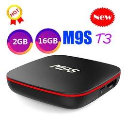 M9S T3 Allwinner H3 1G 8G 2GB 16GB Android 7.1 TV BOX Quad Core Ultra HD H.265 4K Stream Media Player Better Amlogic S905W TX3 X96 T95Q X92 on Sale
