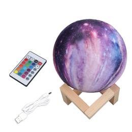 $enCountryForm.capitalKeyWord Australia - 16 Colors 3D Print Star Moon Lamp 8CM Colorful Change Touch Home Decor Creative Gift Usb Led Night Light Galaxy Lamp Dropshipping