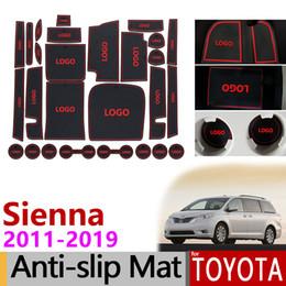 $enCountryForm.capitalKeyWord Australia - Anti-Slip Gate Slot Mat Rubber Coaster for Toyota Sienna 30 XL30 2011 2012 2013 2014 2015 2016 2017 2018 Accessories Stickers