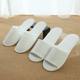c77b4362770 Hotel Shoes Australia - White hotel comfortable disposable slippers  one-time mami cloth two types