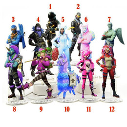 game statue Australia - 2018 Hot Sell 21cm Fornite game Action Figure Acrylic material humanoid statue collection gift gift Good Quality ornaments toys