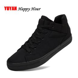 $enCountryForm.capitalKeyWord Australia - Sneakers Mens Canvas Shoes Fashion Cool Street Sneakers Breathable Men's Casual Shoes Male Brand Classic Black White KA241