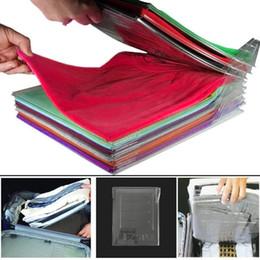 $enCountryForm.capitalKeyWord Australia - 10 Layers Clothes Fold Board Clothing Organization System Shirt Folder Cabinet Closet Drawer Stack Household Closet