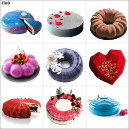 Desserts molD online shopping - 3D Silicone Cake Mold For Cake Decorating Tool Mousse Dessert Silicone Mold for Baking Mould Cake Decorating Tool Baking