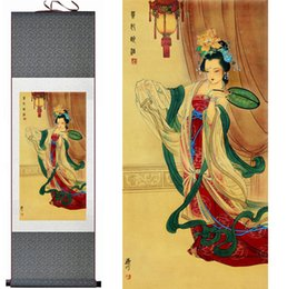 $enCountryForm.capitalKeyWord NZ - Portrait Painting Home Office Decoration Chinese Scroll Painting Guifei Zui Jiu Paintingprinted Painting