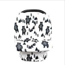 car cart 2019 - Stretchy Baby Car Seat Cover Multifunction Nursing Cover Breastfeeding Cover Shopping Cart Grocery Trolley Covers Carsea