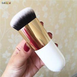 Flat Kabuki Makeup Brushes Australia - Hot Flat Foundation Face Blush Kabuki Powder Contour Makeup Brush Cosmetic Brush